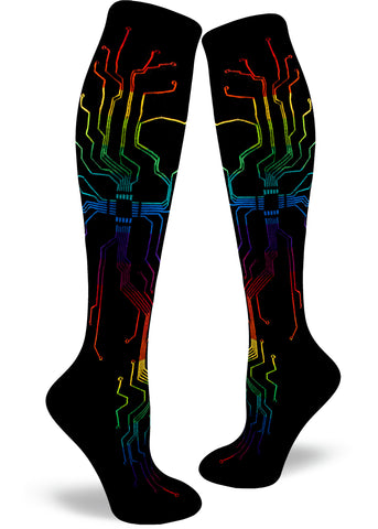 Muthaboard Women's Knee Highs