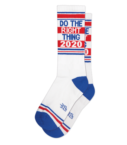 Do The Right Thing 2020 Unisex Crew Socks