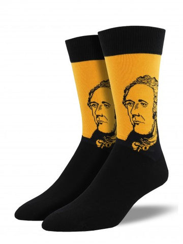 Hamilton (Gold) Men's Crew Socks
