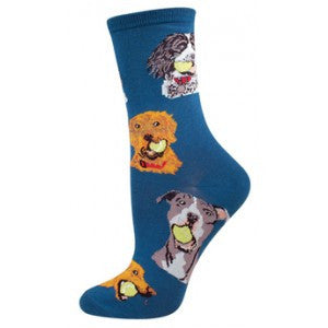 Ball Dog Women's Crew Socks