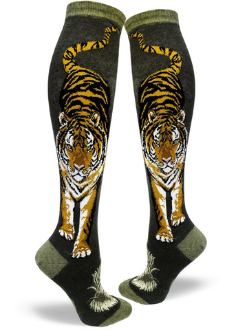 Fierce Tiger Women's Knee Highs