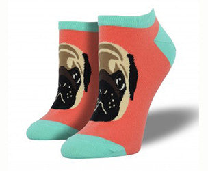 Pug Lyfe (Papaya) Women's Ped