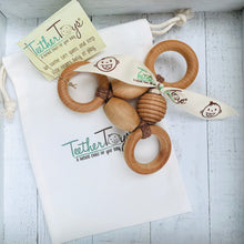 Load image into Gallery viewer, The Original Organic TeetherToys® THREE-RING CIRCUS, 0-6 moths