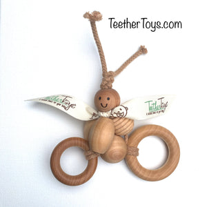 The Original Organic TeetherToys® CRUISING CLAIRE