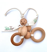 Load image into Gallery viewer, The Original Organic TeetherToys® CRUISING CLAIRE