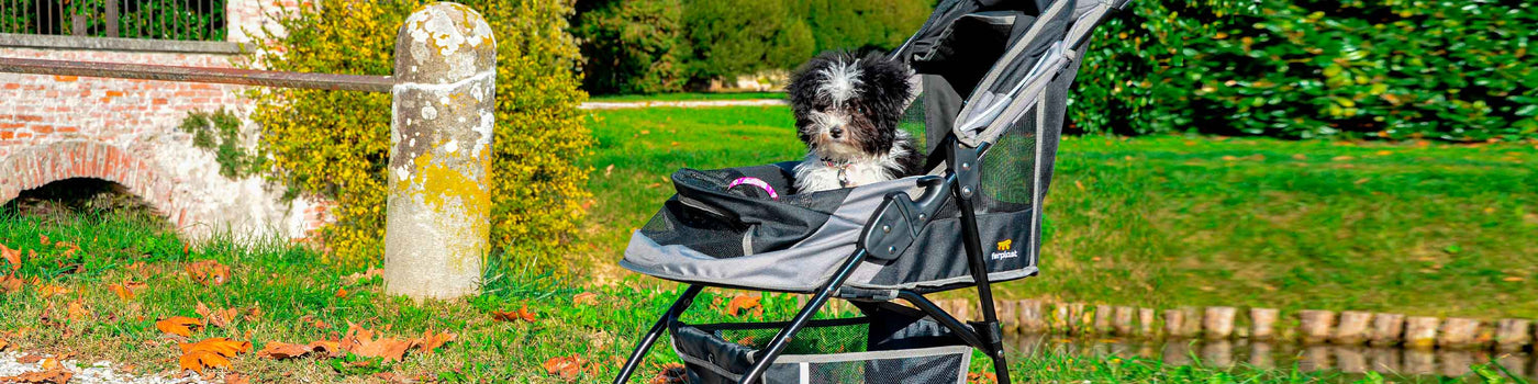 DOG STROLLERS AND TROLLEYS