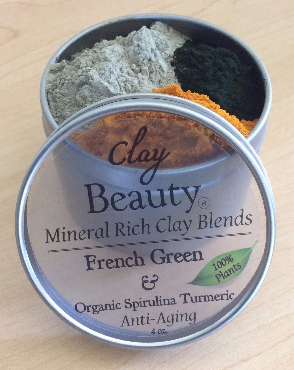 "Clay Beauty French Green ""Skin Superfood""~ FREE shipping!"