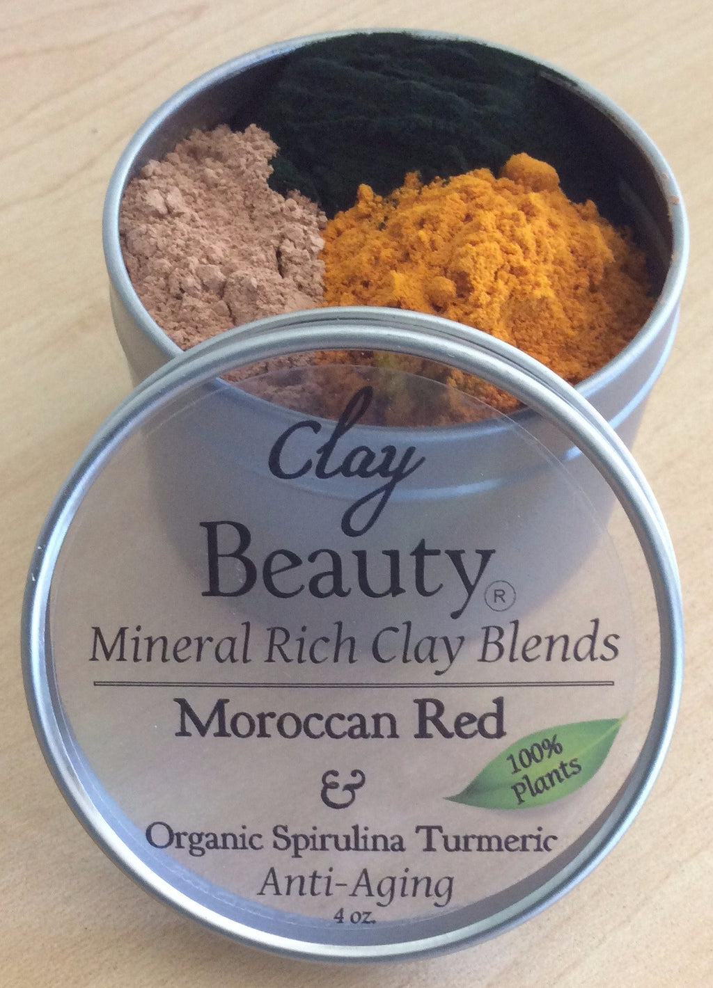 "Clay Beauty Moroccan ""Skin Superfood"" FREE shipping!"
