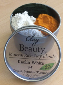 "Clay Beauty Kaolin ""Skin Superfood FREE shipping!"