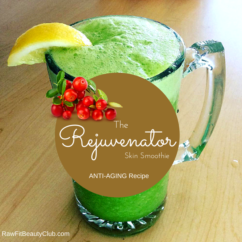 The Rejuvenator Skin Smoothie ~ Anti-Aging Recipe e-Book