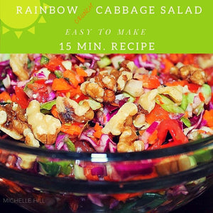 Rainbow Crunch Cabbage Salad e-Book