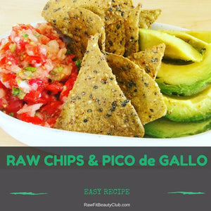 Raw Chips & Pico de Gallo ~ Super Easy Recipe e-Book