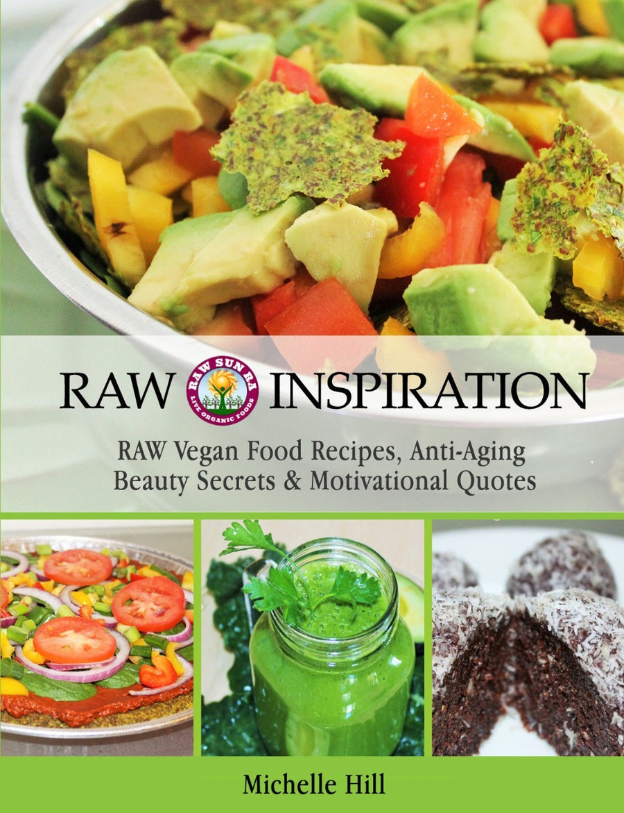 Raw Inspiration Recipe e-BOOK