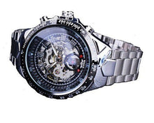 Load image into Gallery viewer, Silver Winner Automatic watch