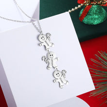 Load image into Gallery viewer, LIMITED TIME ONLY XMA5822 Gingerbread Man Pendant Necklace