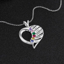 Load image into Gallery viewer, NEC3141 - Elegant Heart Necklace - 6 names