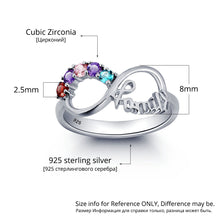 Load image into Gallery viewer, RIN1787 - Infinity Family Ring