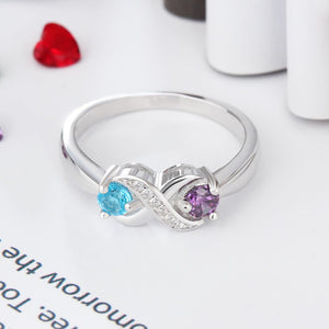 RIN3265 - Infinity Heart Shape Promise Ring