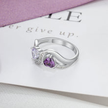 Load image into Gallery viewer, RIN3583 - Infinity Shape Promise Ring