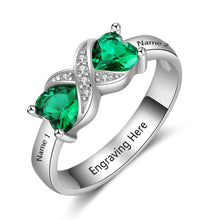 Load image into Gallery viewer, RIN3597 - Infinity Shape Promise Ring