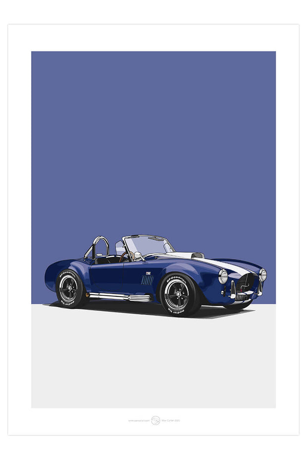 Shelby Cobra - Car Poster