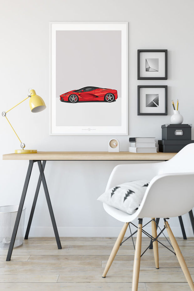LaFerrari - Car Poster
