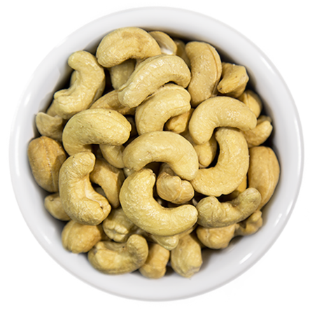 Cashews - Lightly Salted (90% Less Salt)