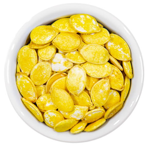 Chubby Pumpkin Seeds - Lime & Saffron