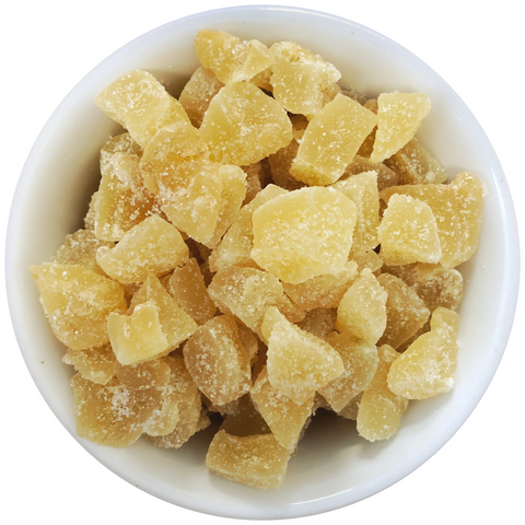 Ginger - Candied Chunks (Sugar-Infused)