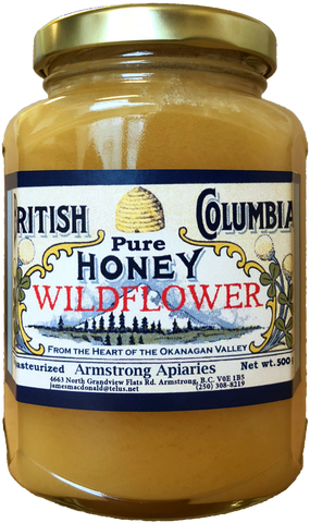 Honey - BC Wildflower
