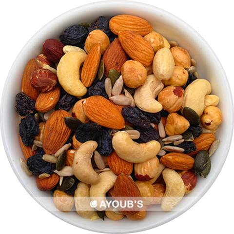 Raw Trail Mix - Nuts, Seeds & Black Raisins