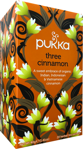Three Cinnamon Tea