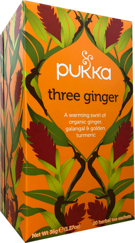 Three Ginger Tea