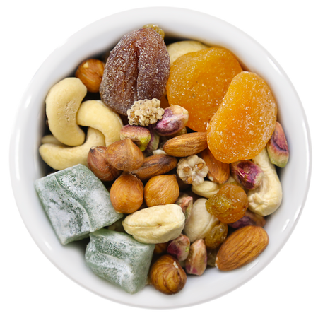 Raw Yalda Mix - Fruits, Nuts & Sweets