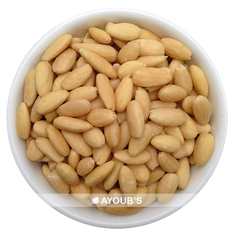 Raw Almonds (Blanched)
