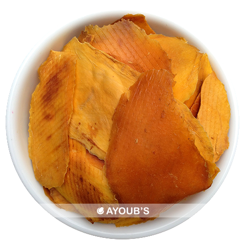 Dried Sliced natural mangoes - no sulphites