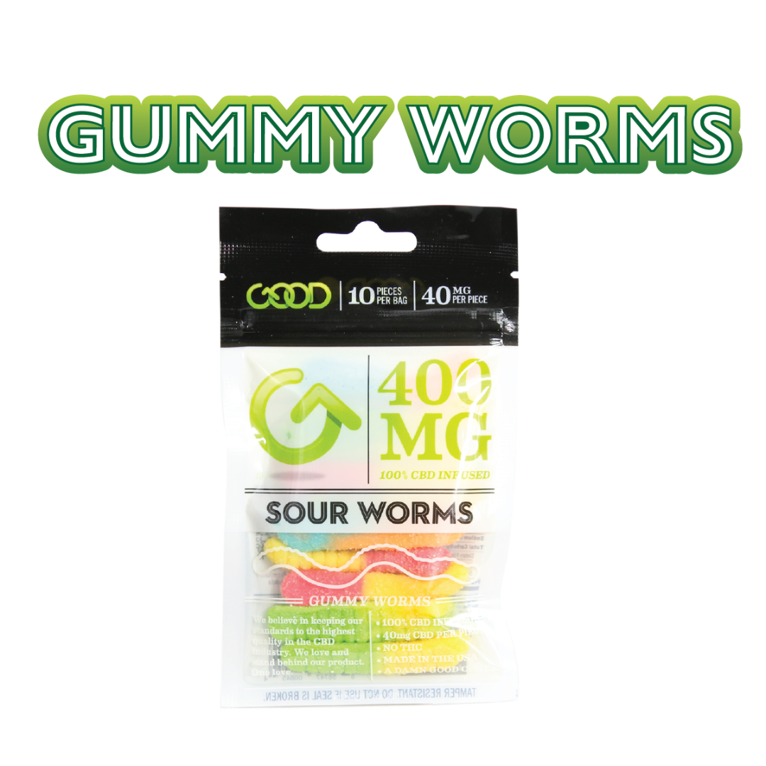 Good CBD | CBD Sour Gummy Worms