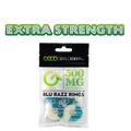 Good CBD | CBD Blu Razz Rings | Extra Strength