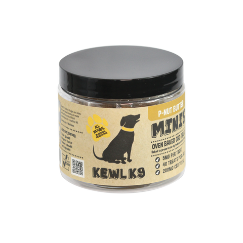 Kewl K9 | CBD Dog Treats | P-Nut Butter Mini Bones 200mg