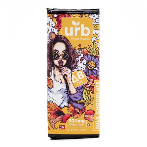 Urb | Delta 8 THC Chocolate Bar