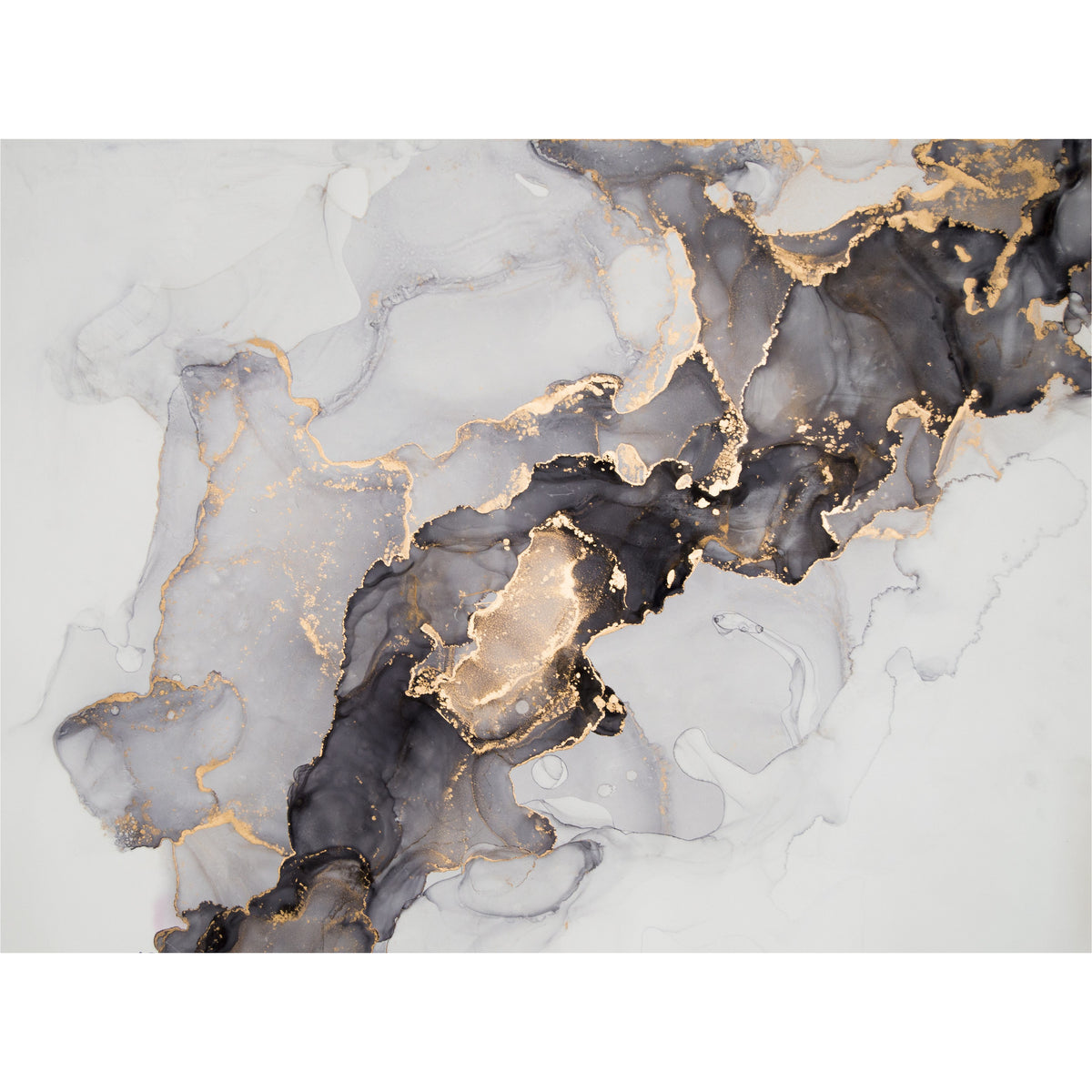 Abstract Smokey freeshipping - Beautiful Spaces Store