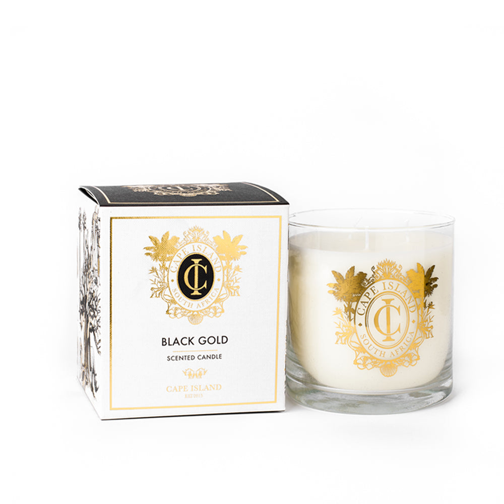 Black Gold Large Candle 2020