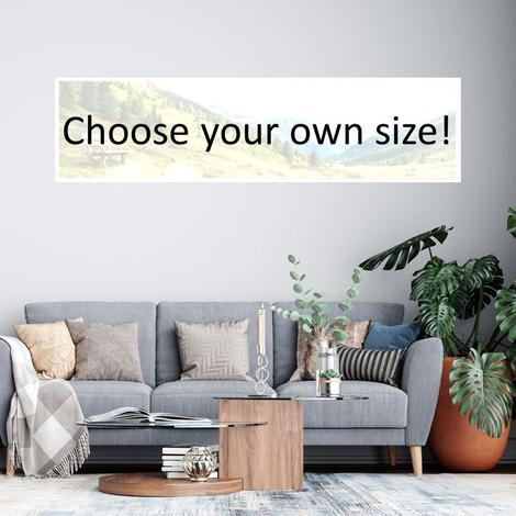 Choose Custom Size Canvases