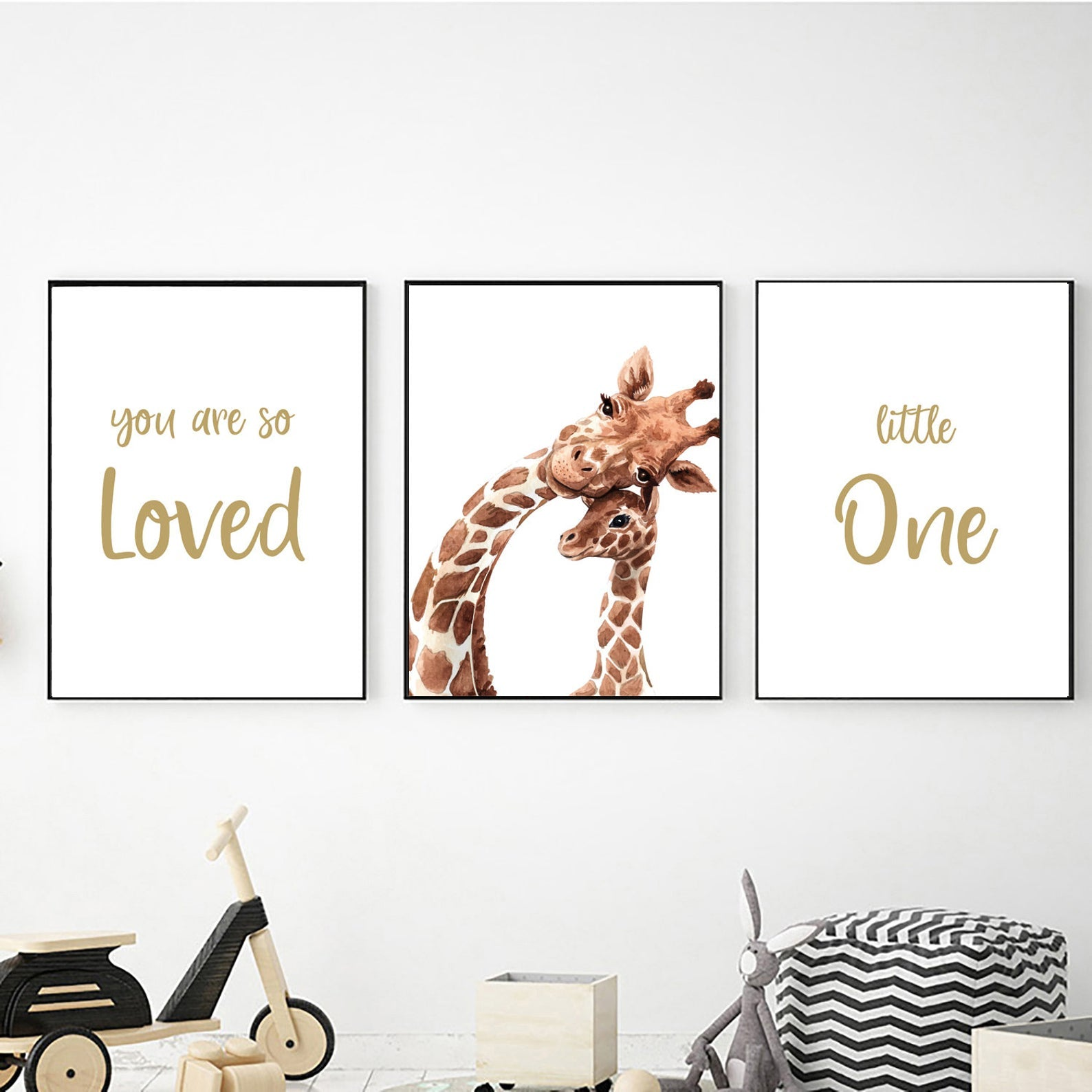 Giraffe So Loved freeshipping - Beautiful Spaces Store