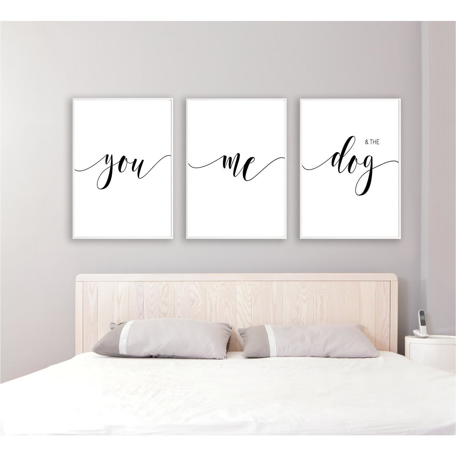 You, Me and the Dog freeshipping - Beautiful Spaces Store