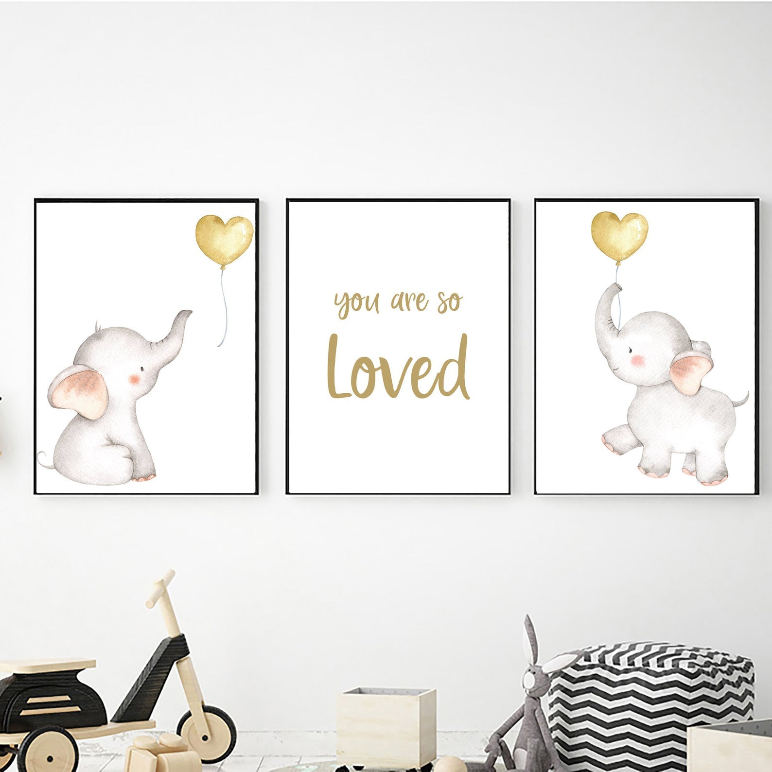 Ellie Gold Balloons freeshipping - Beautiful Spaces Store