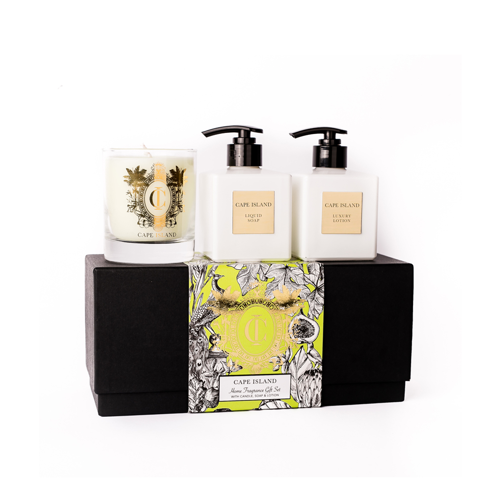 Summer Vineyard Soap, Lotion & Candle Boxed Set