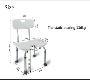 Elderly Bath Aid heavy duty shower chair