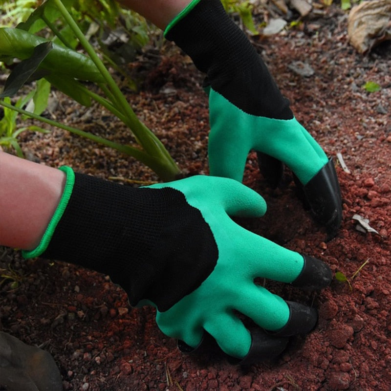 Gardening Gloves with Fingertip Claws