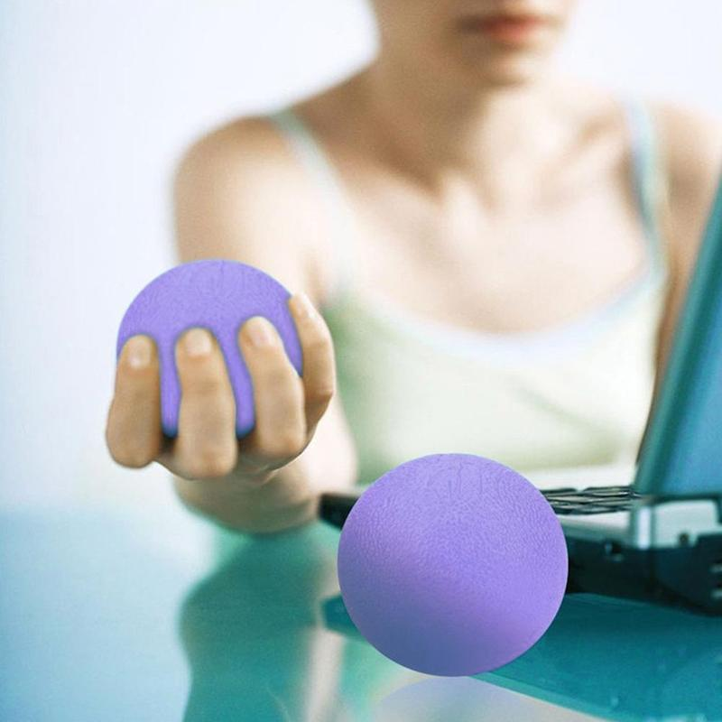 3 Pack Silicone Massage Therapy Grip Ball
